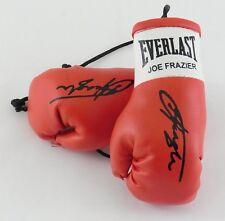 Autografiada Mini Guantes De Boxeo fumar Joe Frazier