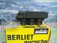 """1/50 Solido (France)  Berliet """"aurochs""""  #214"""