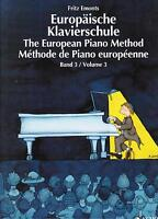 Klavier Noten Schule : Europäische Klavierschule Band 3 (Fritz EMONTS)