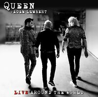 Queen And Adam Lambert - Live Around The World [CD] Sent Sameday*