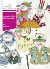 Snowmen for all Seasons Anita Goodesign Embroidery Machine Design CD 74AGHD