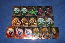 1995 ULTRA SPIDER-MAN GOLDEN WEB CHASE CARDS LOT OF 16 (NS616)