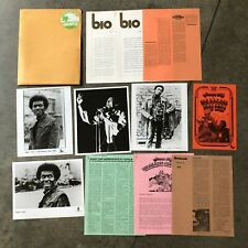 Jimmy Cliff The Harder They Come press kit materials promo photos movie & album
