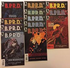B.P.R.D. Lot Of 12 Comics (Dark Horse, 2007/08). VF (1946, Garden Souls, BPRD)