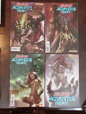 RED SONJA ATLANTIS RISES #1-4 NM Lucio Parrillo covers Dynamite Comics Low Print