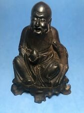 Aintique Chinese Carved Soapstone Buddha Incense Burner Smoker Old
