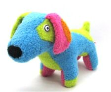 "Douglas RAD DOGS Deep Blue Jr. 9"" long Blue Green Pink Glam Gal Dogs Sassy"