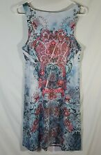 Kiara Dress Women's Fancy Flowered Soft Satiny Gown Size Medium