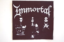 "Immortal Cloth Patch Sew On Badge Black Metal Enslaved Approx 4""X4"" (CP161)"