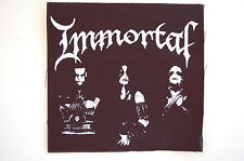 """Immortal Cloth Patch Sew On Badge Black Metal Enslaved Approx 4""""X4"""" (CP161)"""