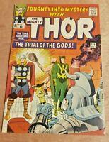 Journey Into Mystery #116 Kirby Thor Loki Enchantress Executioner Nice Copy
