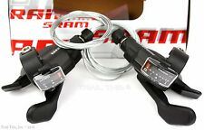 SRAM X4 3 x 8-Speed Bike Trigger Shifter Set Left & Right with Cables MTB Hybrid