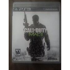 PS3 Call Of Duty MW3 With Manual And Case PlayStation 3 3Z