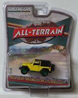 Greenlight All Terrain 2015 Jeep Wrangler Willys Wheeler Green Machine