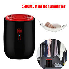500ML Portable Mini Dehumidifier Electric Quiet Air Dryer Moisture Home Bathroom