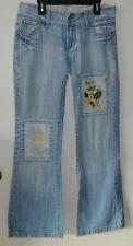 Women C'est toi Boot Cut Light Blue Casual Jeans Size 7