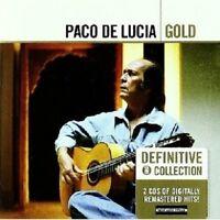 "PACO DE LUCIA ""GOLD"" 2 CD NEU"