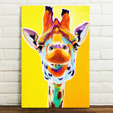 Unframed Canvas Prints Modern Home Decor Wall Art Picture-Colorful Deer Head