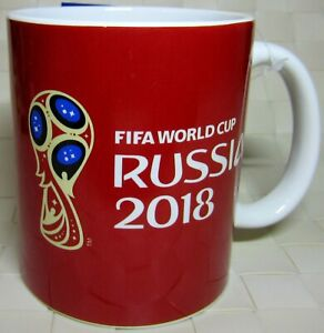 Mug Cup World Cup FIFA 2018 ❤️Russia souvenir❤️ football soccer Zabivaka ceramic