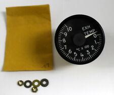 Vintage Aircraft Instrument Aircraft Exhaust Temperature Indicator Instrument