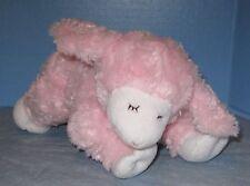 Girls Baby Gund Winky Pink Lamb Sheep Plush Stuffed 3+Months Infant Rattle 58131