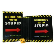 Drinking With Stupid Card Game - Adult Fun Party Game