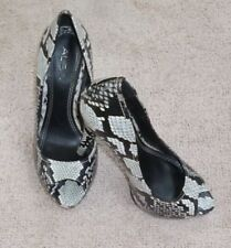 High (3 in. and Up) Stiletto Animal Print Open Toe Heels for Women
