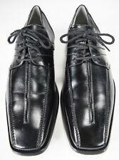 Stacy Adams Parnell Black Leather Bicycle Toe Oxfords Men's Size 8.5 (M)