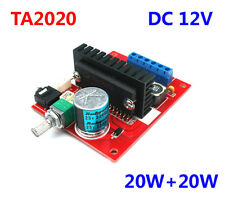 DC12V Mini TA2020 T-Amp Digital Stereo Power Amplifier 20WX2 Board for Car Audio