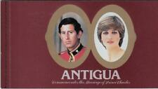 Antigua 1978 Royal wedding $11.50 Complete Booklet, Sc #627 - ow868