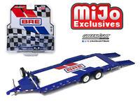 GREENLIGHT MiJo 1/64 BRE BROOK RACING HEAVY DUTY CAR HAULER TRAILER 51259