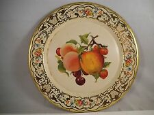 Vintage Daher Decorated Ware Made in Holland Tin Plate Fruit Apple Cherry