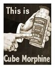 Sulphate Of Morphine - Gloss Print Of Antique 1900s Druggist, Pharmacy 8x10 Ad