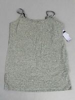 Motherhood Maternity Clip Down Nursing Cami MS7 Heather Grey Small NWT