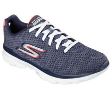Women's Skechers Navy White Go Fit Tr Prima Fitness Shoes