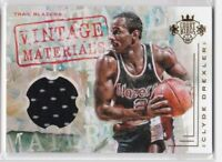 2016-17 PANINI COURT KINGS VINTAGE MATERIALS CLYDE DREXLER JERSEY #/149