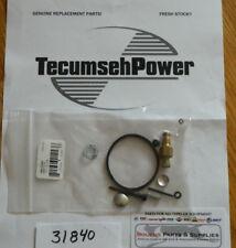 0000070F 31840 Tecumseh snowblower carburetor rebuild kit H25-H70 Hm40-Hm70 ect Genuine!
