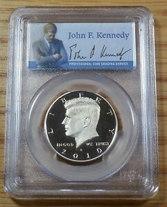 2010 S -  KENNEDY Half Dollar CN/CLAD - PCGS PF 69 DCAM * Combined Shipping
