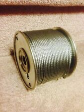 """1/16"""" Stainless Steel Wire Rope Cable - 250 ft Spool"""