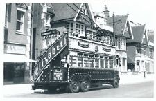 Transport Sussex HASTINGS Trolley Bus 1953 Photograph by Abcross