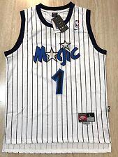 Penny Hardaway White Pinstripe Orlando Magic Jersey Size Large