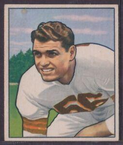 1950 Bowman Football Card #78 Dante Lavelli Browns Near EX