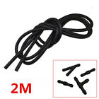 2M Car Jet Tube Pipe+Hose Connectors T Y for Nozzle Pump Windshield Wiper Washer photo
