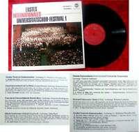 LP 1. Internationales Universitätschor-Festival (1)