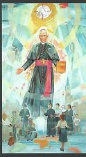 estampa del Siervo Juan santino holy card image pieuse