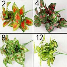 Fake Artificial False Flower Leaf Plants Indoor Outdoor Foliage Bush Garden #241