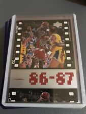 Michael Jordan 86-87
