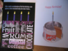 """Funny Comedy Humor Adult Birthday Card """"After Careful Consideration Of All..."""""""