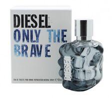 DIESEL ONLY THE BRAVE EAU DE TOILETTE 50ML SPRAY - MEN'S FOR HIM. NEW