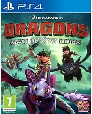 How to Train Your Dragon PS4   Dragons Dawn of New Riders   PS5 Game New Sealed